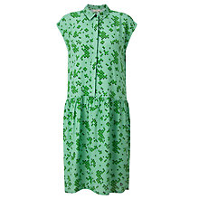 Buy Numph Juverna Sleeveless Dress, Medium Green Online at johnlewis.com
