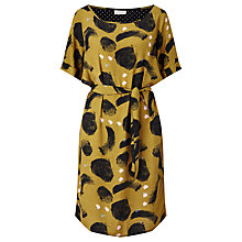 Buy Numph Kalara Waist Belt Dress, Dull Gold Online at johnlewis.com