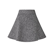 Buy Numph Canens Skirt, Grey Melange Online at johnlewis.com