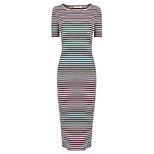 Buy Oasis Stripe Tube Dress, Multi Online at johnlewis.com