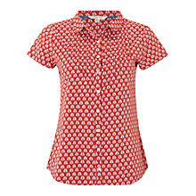 Buy White Stuff Fan Print Shirt Online at johnlewis.com