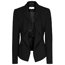 Buy Reiss Sienna Drape Front Jacket Online at johnlewis.com