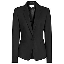 Buy Reiss Hanelli Tailored Jacket, Black Online at johnlewis.com