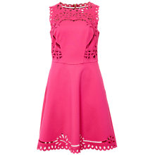Buy Ted Baker Verony Cut-Work Midi Dress Online at johnlewis.com
