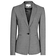 Buy Reiss Salt and Pepper Gabrielle Jacket, Grey/Black Online at johnlewis.com