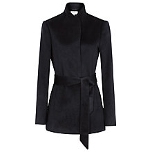 Buy Reiss Belted Jacket, Night Navy Online at johnlewis.com