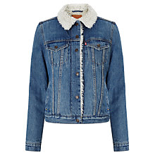 Buy Levi's Vintage Sherpa Trucker Jacket, Movin' & Shakin' Online at johnlewis.com