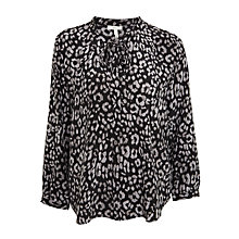 Buy Joie Purine B Silk Blouse, Caviar Online at johnlewis.com