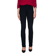 Buy NYDJ Marilyn Straight Leg Jeans, Black Online at johnlewis.com