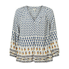Buy Joie Sonoma Silk Blouse, Faded Sky Online at johnlewis.com