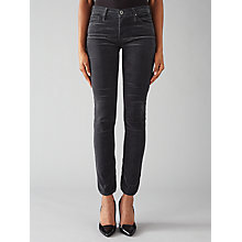 Buy AG The Corduroy Prima Jeans, Grey Online at johnlewis.com