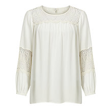 Buy Joie Coastal Blouse, Porcelain Online at johnlewis.com