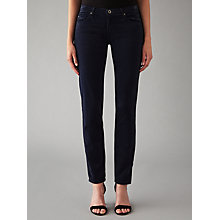 Buy AG The Corduroy Stilt Skinny Jeans, Night Sky Online at johnlewis.com