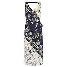 Buy Oasis Sashiko Sash Dress, Multi Online at johnlewis.com