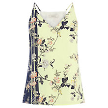 Buy Oasis Sashiko Sash Cami, Multi Green Online at johnlewis.com