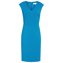 Buy Reiss Jamie Fitted Dress, Peacock Blue Online at johnlewis.com