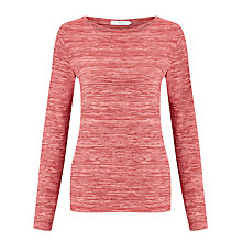 Buy John Lewis Three-Quarter Sleeve Space Stripe Top Online at johnlewis.com
