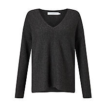 Buy John Lewis Horizontal Knit V-Neck Jumper Online at johnlewis.com