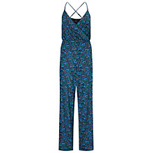 Buy Miss Selfridge Print Wrap Jumpsuit, Multi Online at johnlewis.com