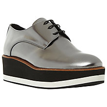 Buy Dune Black Factor Flatform Brogues Online at johnlewis.com