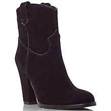 Buy Dune Black Padbury Block Heeled Ankle Boots Online at johnlewis.com
