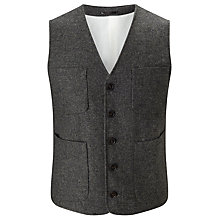 Buy JOHN LEWIS & Co. Collarless Waistcoat Online at johnlewis.com