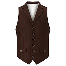 Buy JOHN LEWIS & Co. Collared Waistcoat Online at johnlewis.com