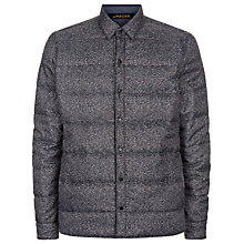 Buy Jaeger Reversible Nylon Shacket, Navy/Grey Online at johnlewis.com