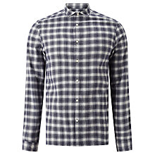 Buy Kin by John Lewis Ombre Check Shirt Online at johnlewis.com