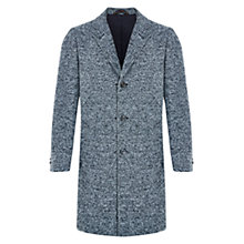 Buy HYMN Amazorblades Textured Overcoat, Grey Online at johnlewis.com