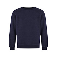 Buy HYMN Inside Out Jersey Top, Navy Online at johnlewis.com