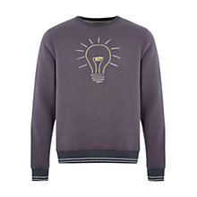 Buy HYMN Lightbulb Jersey Top, Charcoal Online at johnlewis.com