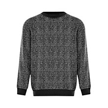 Buy HYMN Kent Speckled Jersey Top, Black Online at johnlewis.com
