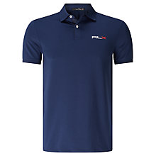Buy Polo Golf by Ralph Lauren RLX Pro Fit Polo Shirt, French Navy Online at johnlewis.com