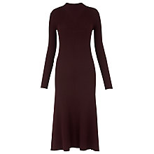 Buy Whistles Fit & Flare Ribbed Dress Online at johnlewis.com