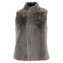 Buy Whistles Short Sheepskin Gilet Online at johnlewis.com