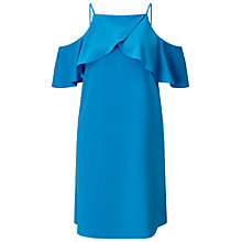 Buy Miss Selfridge Cold Shoulder Cami Dress, Bright Blue Online at johnlewis.com