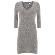 Buy Mint Velvet Longline V-Neck Tunic, Grey Online at johnlewis.com