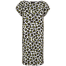 Buy Jaeger Jersey Animal Print Dress, Multi Online at johnlewis.com