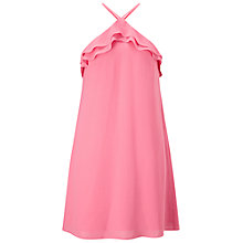 Buy Miss Selfridge Halter Dress, Pink Online at johnlewis.com
