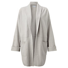 Buy Jigsaw Felted Wool Cocoon Jacket, Putty Online at johnlewis.com