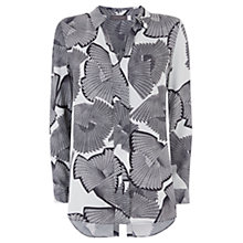 Buy Mint Velvet Mara Print Split Back Shirt, Multi Online at johnlewis.com