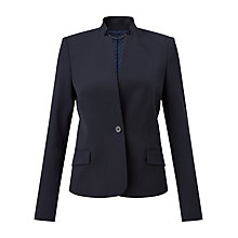 Buy Jigsaw Paris Chip Rever Jacket, Navy Online at johnlewis.com