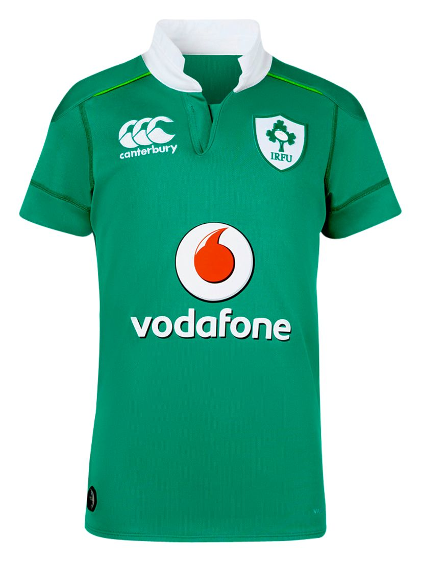 Canterbury of New Zealand Canterbury of New Zealand Boys' Ireland Home Pro Rugby Shirt, Green