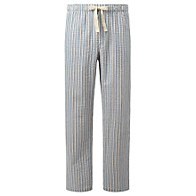 Buy John Lewis Woodlands Stripe Lounge Pants, Blue/White Online at johnlewis.com
