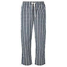 Buy John Lewis Tenterton Check Lounge Pants, Blue Online at johnlewis.com