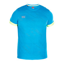 Buy Canterbury of New Zealand VapoDri Elite T-Shirt, Atomic Blue Online at johnlewis.com