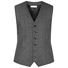 Buy Reiss Morrow Wool Slim Fit Waistcoat, Charcoal Online at johnlewis.com
