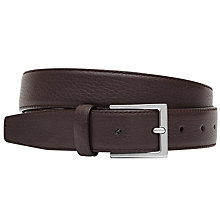 Buy Reiss Henry Tumbled Leather Belt Online at johnlewis.com