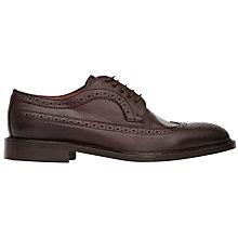 Buy Reiss Ash Leather Brogues, Ox Blood Online at johnlewis.com